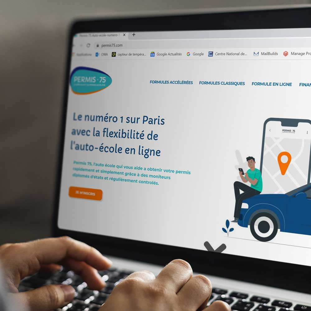 optimisation site web permis75 mongraindecom